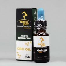Aceite sublingual 20ml Golden Pet, de Nankö
