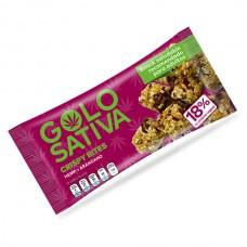 Barra vegana de hemp Golo Sativa Crispy Bites 40g,...